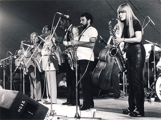 Tenor Sax Battle. North Sea Jazz Festival 1982.